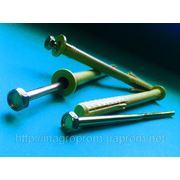 Дюбель фасадный 10х140 mm WAVE четырехраспорный бурт 12mm с М6 - ISO 9001, УКРСЕПРО фото