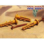 Дюбель WAVE быстрого монтажа гриб 6х35 mm с ударным шурупом - ISO 9001 фото