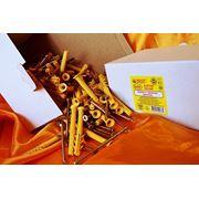 Дюбели WAVE 8х80 mm потай с ударным шурупом в картонной коробке - ISO 9001 фото