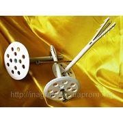 Дюбель 10х160 mm диск d 70 mm крепления теплоизоляции (TERMODUBEL) с ударным шурупом 4,5х160 mm (UTD NS) фото