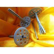 Дюбели для теплоизоляции со стальным гвоздём 70-220 диск 70 mm UTD MN - ISO 9001, УКРСЕПРО фото