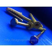 Дюбель фасадный 10х140 mm WAVE четырехраспорный бурт 12mm с М8 - ISO 9001, УКРСЕПРО фото