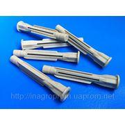 Дюбели 6х51mm универсальные узелковые, бурт, трехстороннего распора, типа ЖГУТ фото