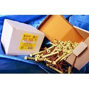Дюбели WAVE 6х55 mm гриб с ударным шурупом в картонной коробке - ISO 9001 фото