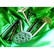 Дюбели для термоизоляции с ударным шурупом или металлическим гвоздём - ISO 9001, УКРСЕПРО фото