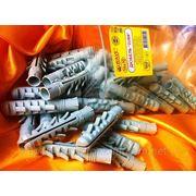 Дюбели ZUBR 14х70 mm упаковка ziplock - ISO 9001 фото