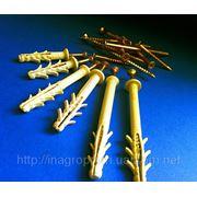 Дюбели быстрого монтажа 6х40,6х60 и 6х80 mm с ударным шурупом - ISO 9001 и УКРСЕПРО фото