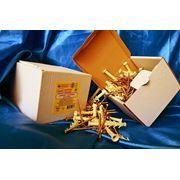 Дюбели WAVE 6х60 mm потай с ударным шурупом в картонной коробке - ISO 9001 фото