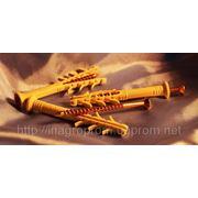 Дюбель WAVE 6х60 mm потай быстрого монтажа с ударным шурупом - ISO 9001 фото