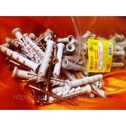Дюбели 8х60 mm WAVE упаковка ziplock - ISO 9001 фото