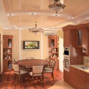 Дизайнерский ремонт кухни, столовой фото