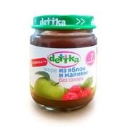 """Пюре яблоко-малина """"dettka"""" без сахара 0,100 л фото"""