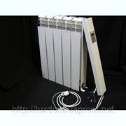 Электрорадиатор настенный Эра пятисекционный, отопление 10 кв.м. (220 Вт/ч) фото