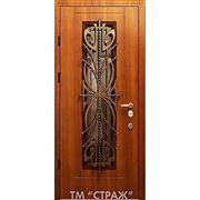 Двери входные со стеклопакетом