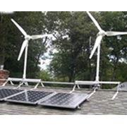 Гибридные ветросолнечные системы электропитания фото