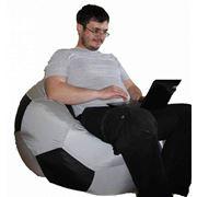Кресло мяч, курточная ткань, большой размер фото
