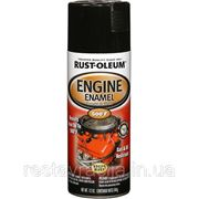 Термостойкая эмаль (черный, глянцевый), Engine emael фото
