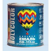 Эмаль ПФ-115 Поликолор красно-коричневая 0,9 кг (шт) фото