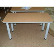 Стол прямоугольный на регулируемой опоре фото