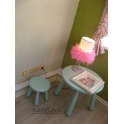Детский стол и табурет
