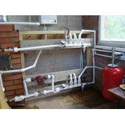 Водоснабжение дома. фото