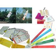 Пломбы, бирки, этикетки из материала TYVEK® (Тайвек®) фото