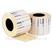 Препринт этикетка для термо печати. Внутренний диаметр 50-76 мм. фото