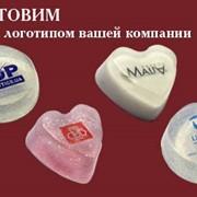 Изготовим мыло с логотипом Вашей компании!!! фото