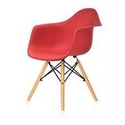 Кресло Eames Style DAW (красный) фото