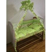 Комплект детского постельного белья к-06 МГ (7 предметов) фото