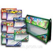 Папка для тетрадей на молнии пластиковая, A5, 4 цвета 2601 фото
