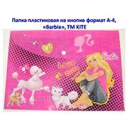 "Папка пластиковая ""Barbie"" (на кнопке, формат А4) фото"