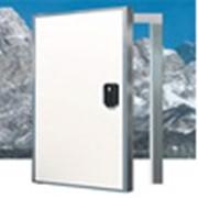 Установка распашных, откатных холодильных дверей фото