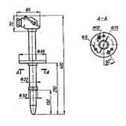 Преобразователь термоэлектрический ТХК-2888 (ТУ 25-7363.041-89) фото