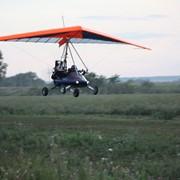 Обучение полётам на дельталёте фото