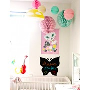 Интерьерная наклейка для рисования мелками Бабочка от Pinxi фото