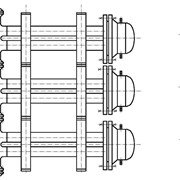 Уплотнения теплообменника Alfa Laval MX25-BFD Москва теплообменник беретта 11