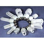 Лампа энергосберегающая 9W 2700K E27 full spiral T2 фото