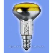 Рефлекторная лампа Philips NR63 40W Е27 YE желтая фото