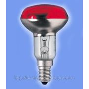 Рефлекторная лампа Philips NR50 40W Е14 RE красная фото