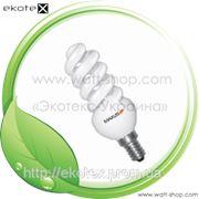 Энергосберегающая лампа maxus Slim full spiral 13W, 2700K, E14