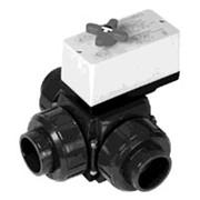 Шаровой кран Praher S4 PVC-U (ПВХ) metric DN 10-50 мм фото