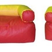 Комплект мягконабивной мебели для детей Уют(без столика) фото