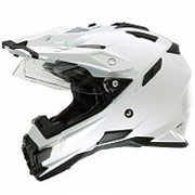 ONEAL Шлем кроссовый со стеклом SIERRA ADVENTURE PLAIN белый фото