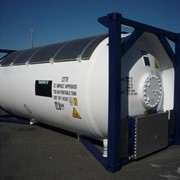 Танк контейнер T50 СУГ для перевозки пропан бутана. фото