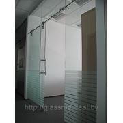 Раздвижные стеклянные двери. Раздвижные перегородки.