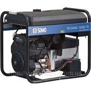 Генератор бензиновый трехфазный 380В/220В 15000ВА фото
