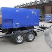 Генератор на шасси (двухосный трейлер) UND 150 кВа фото