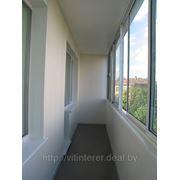 Раздвижные балконные системы из алюминия (PROVEDAL)