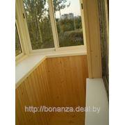 Балконная рама раздвижная (алюминиевая конструкция) Г-образная боковая часть раздвижная